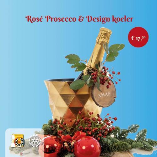 Pakket B: Rosé Prosecco & Design koeler
