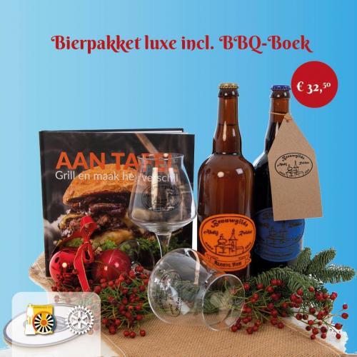 Pakket D: Bierpakket luxe incl. BBQ-Boek
