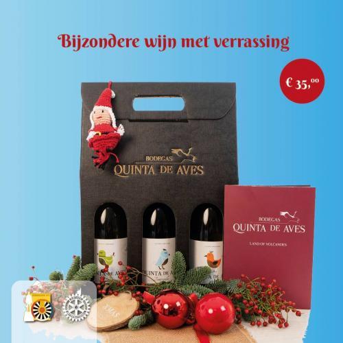 Pakket E: Bijzondere Wijn met verrassing